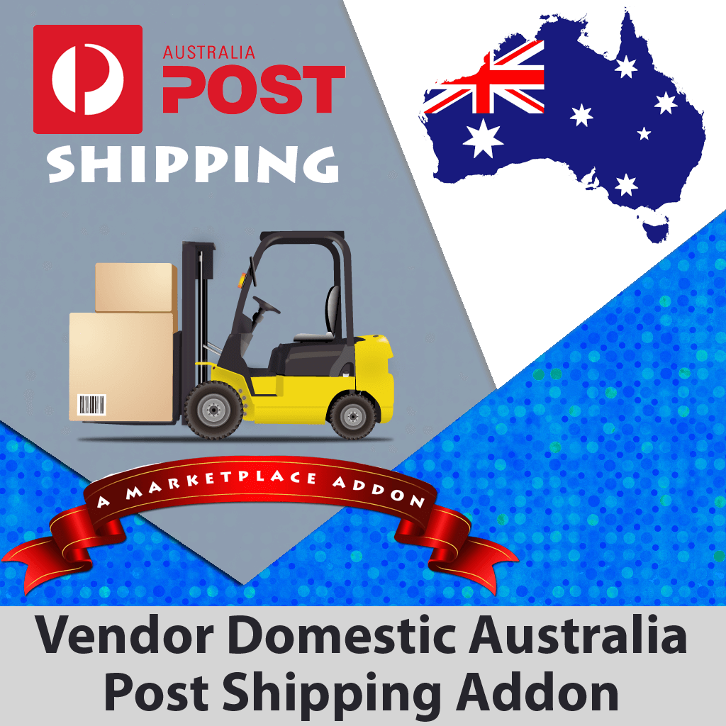 Vendor Domestic Australia Post Shipping Addon
