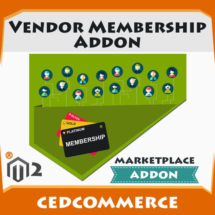 Magento 2 Vendor Membership Addon
