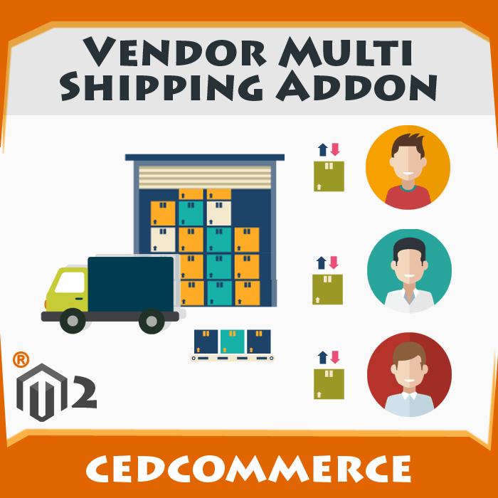 Vendor Multi Shipping Addon [M2]