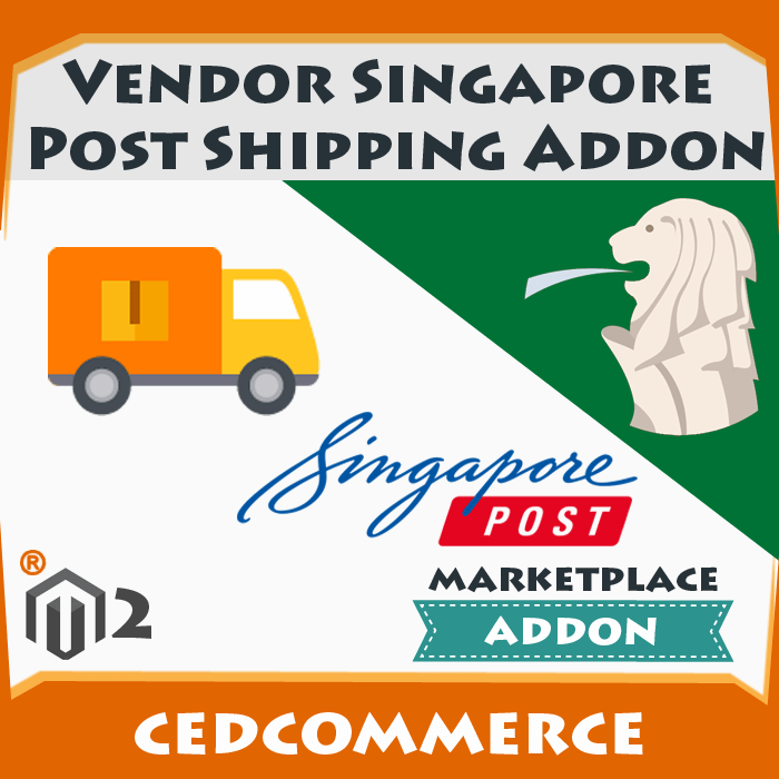 Vendor Singapore Post Shipping Addon [M2]