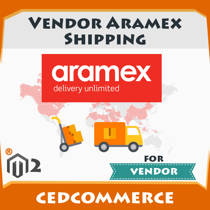 Vendor Aramex Shipping Addon [M2]