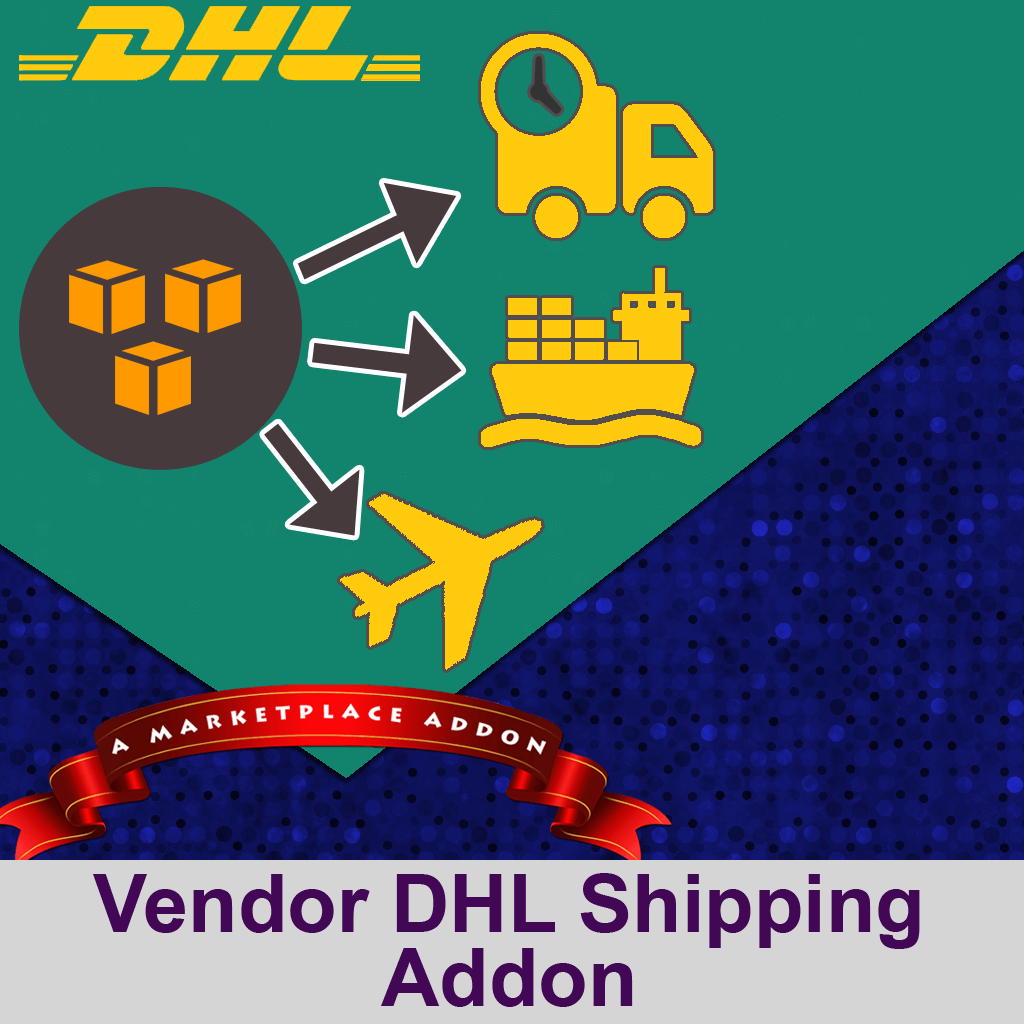 Vendor DHL Shipping Addon