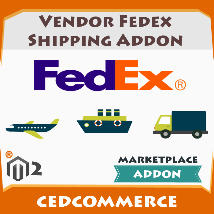 Vendor Fedex Shipping Addon [M2]