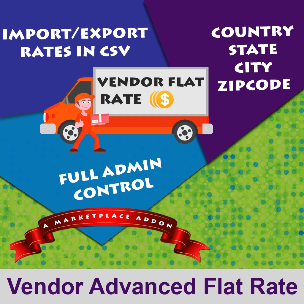 Vendor Advanced Flat Rate Shipping Addon