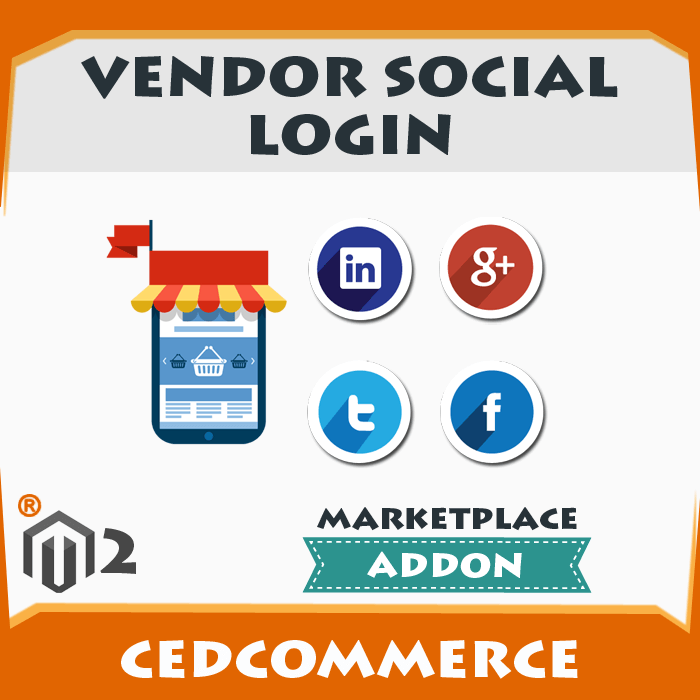 Vendor Social Login Addon [M2]