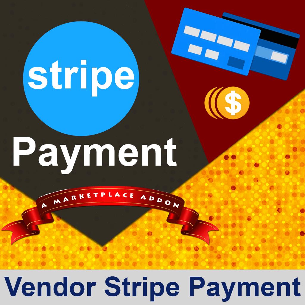 Vendor Stripe Payment Addon
