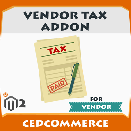 Vendor Tax Addon [M2]