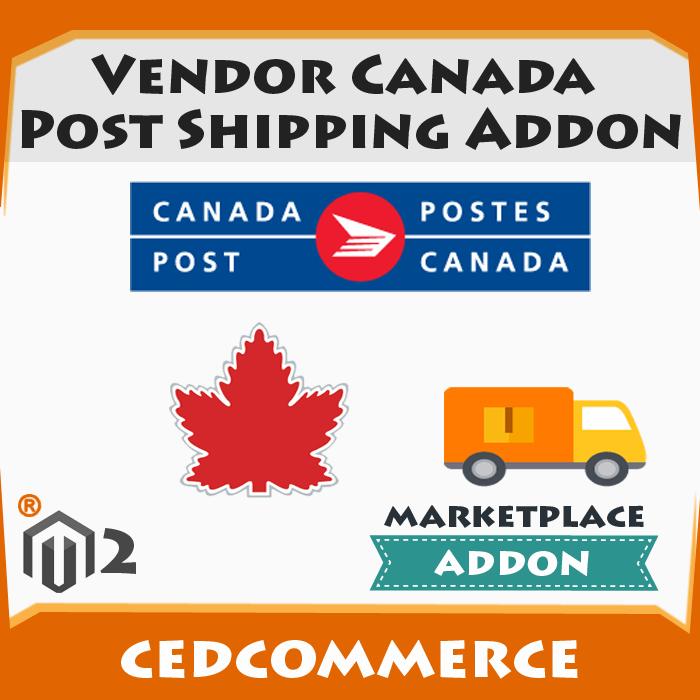 Vendor Canada Post Shipping Addon [M2]