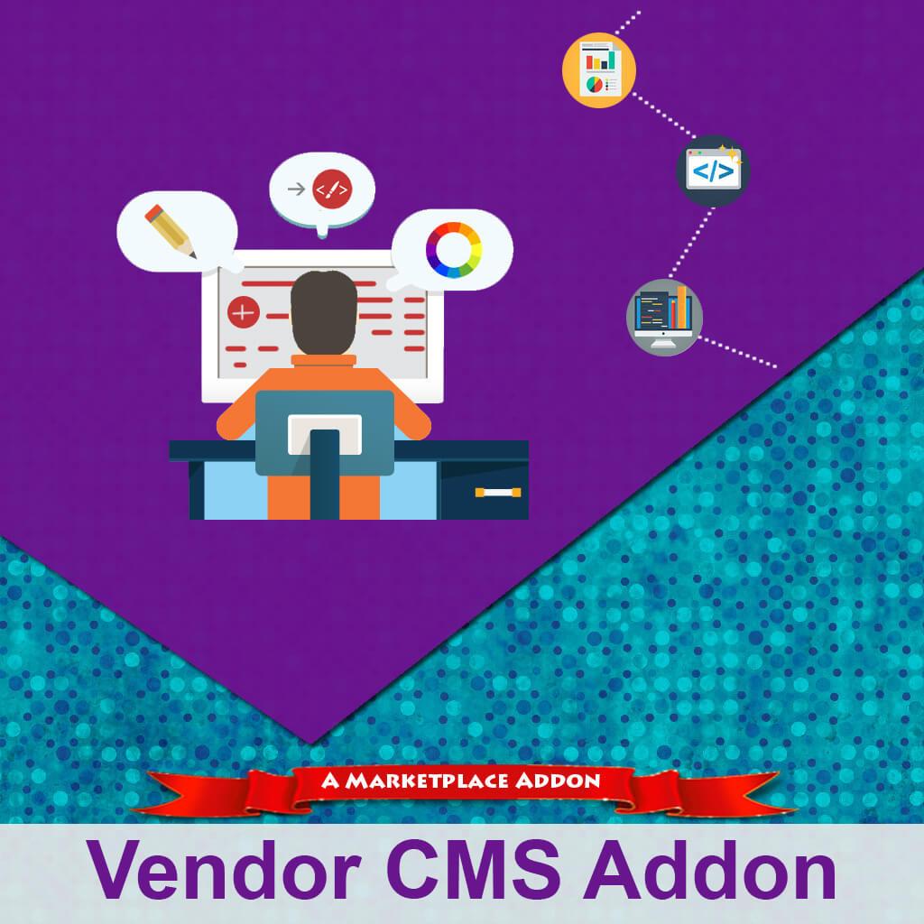 Vendor CMS Addon