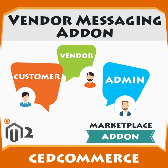 Vendor Messaging Addon [M2]