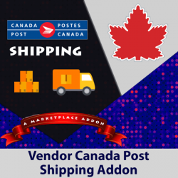 Vendor Canada Post Shipping Addon