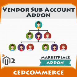 Vendor Sub Account Addon [M2]