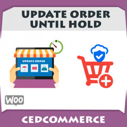 Update Order Untill HOLD