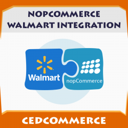 Nopcommerce Walmart intergation
