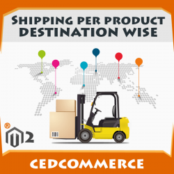 Shipping Per Product Destination Wise [M2]