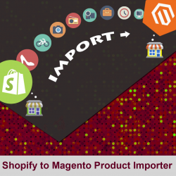 Shopify to magento product Importer
