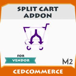 Vendor Split Cart Addon [M2]