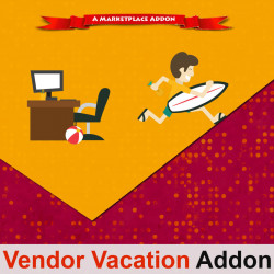 Vendor Vacation Addon