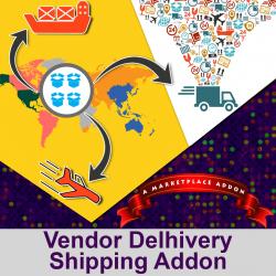Vendor Delhivery Shipping Addon