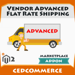 Vendor Advanced Flat Rate Shipping Addon [M2]