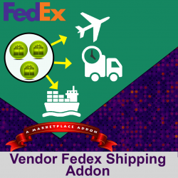 Vendor Fedex Shipping Addon