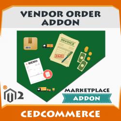Vendor Order Addon [M2]