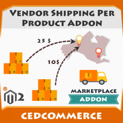 Vendor Shipping Per Product Addon [M2]