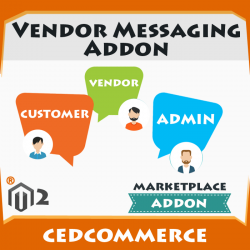 Vendor Messaging Addon [M2]