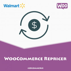 Woocommerce Walmart Repricer