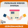 Magento 2 Purchase Order System