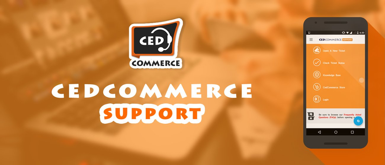 CedCommerce Support App