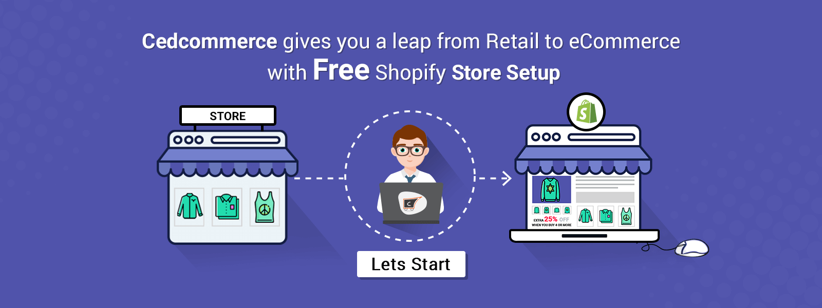 shopify store banner