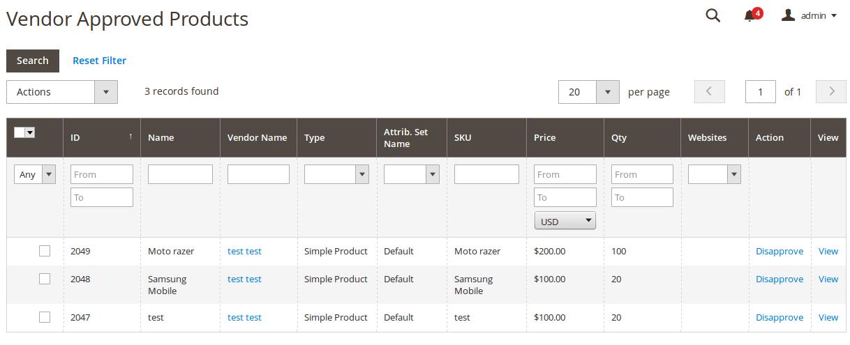 Multi-Vendor Marketplace Magento 2 Screenshots