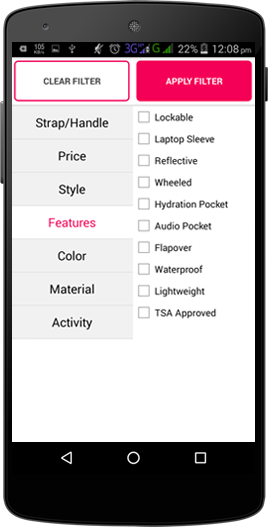 Features Rich Shopping App