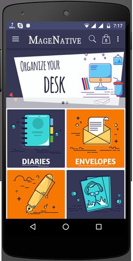 Design Magento mobile app